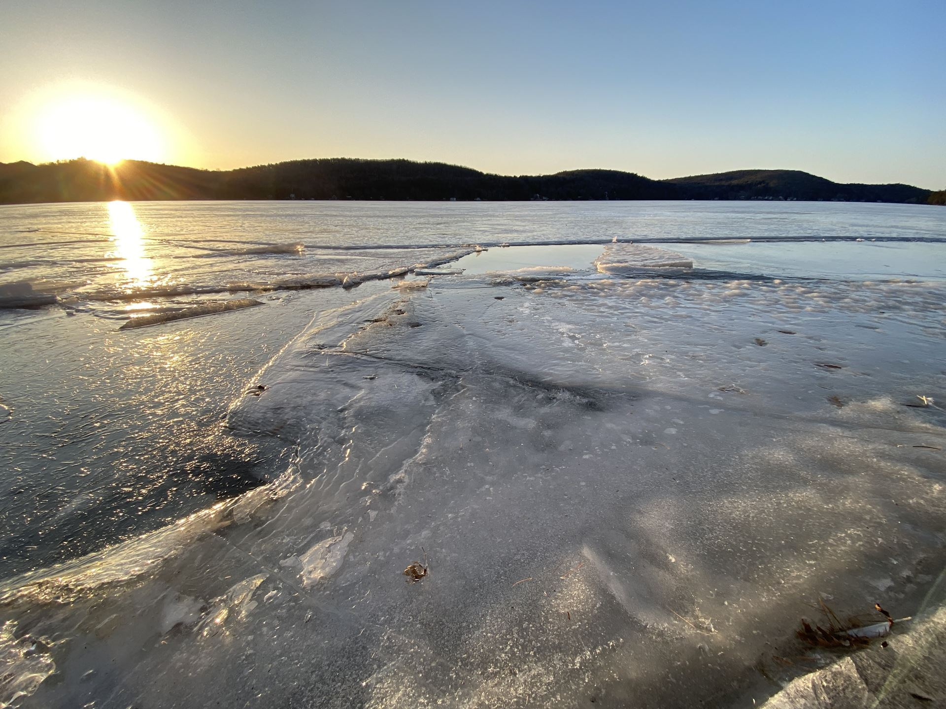 Lake St. Catherine - Ice Out Prediction