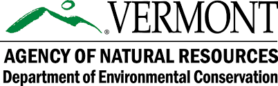 Vermont DEC Agency of Natural Resources logo.