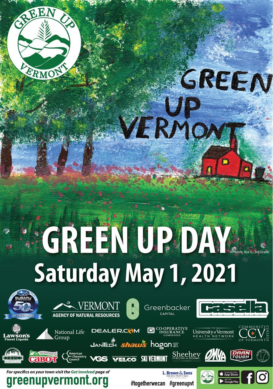Green Up Vermont Day 2021 - Lake St. Catherine
